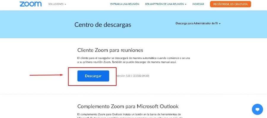 Descargar Zoom gratis en español para windows