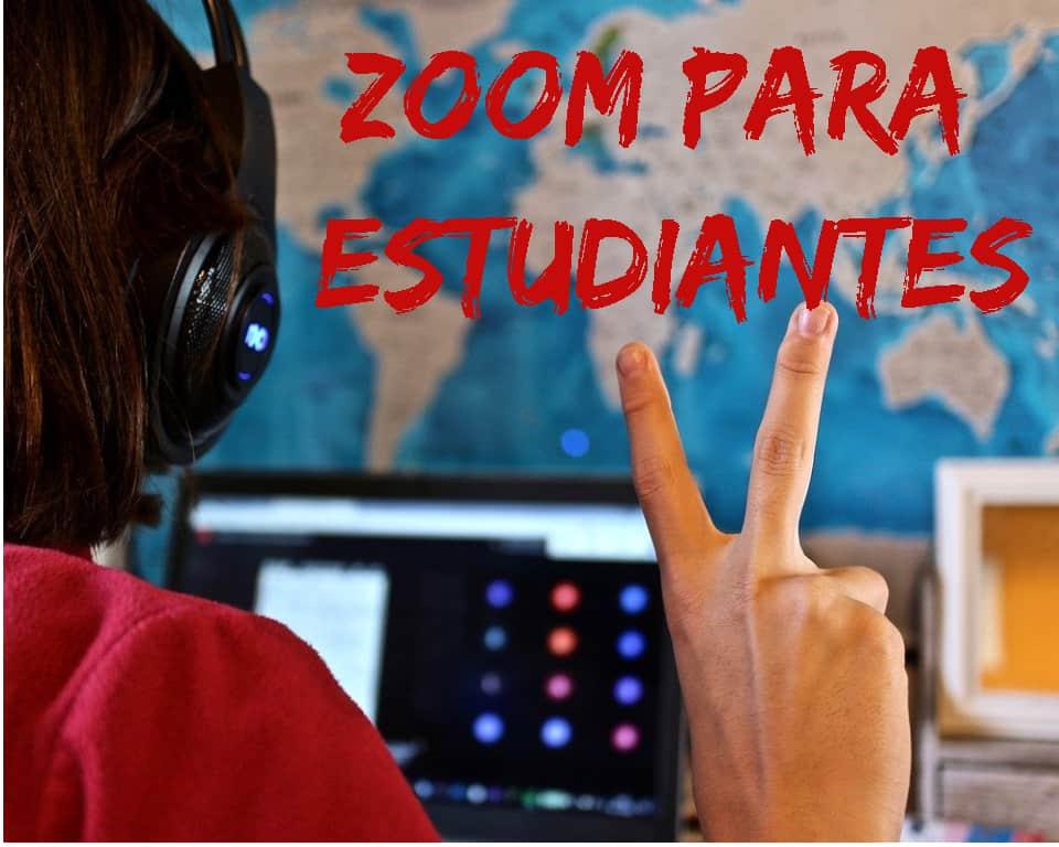zoom para estudiantes