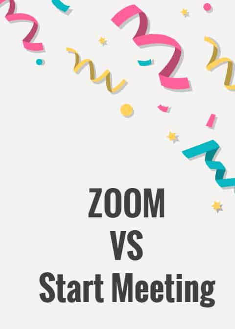 Start Meeting VS ZOOM