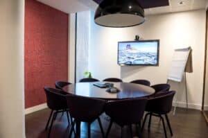 Sala de reuniones videoconferencia
