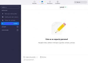 Chat Zoom para Ordenador