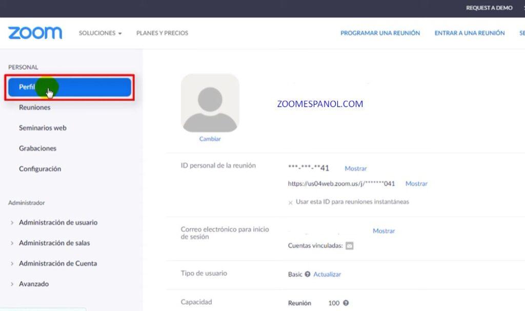 Cómo cambiar mi nombre en Zoom