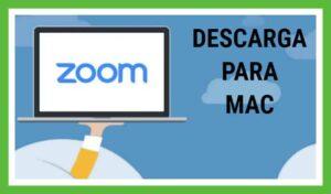 Zoom descargar MAC