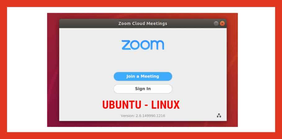 Zoom para ubuntu linux